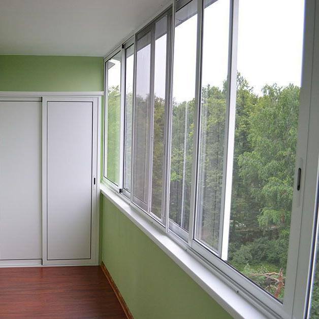Холодное остекление балкона 6000*1400 оконный завод строй ве.